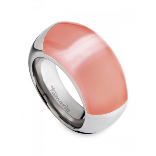 Tamaris Candy Ring A00110305 Size 56 with stone apricot