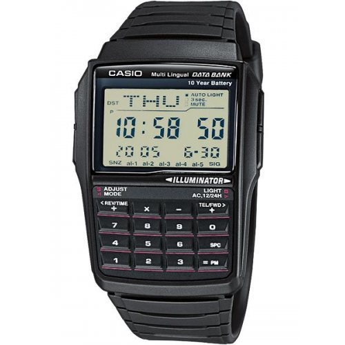 CASIO DBC-32-1AES Collection data-bank 37mm