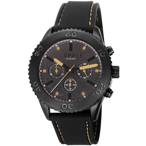 Esprit ES106871002 Marin Rider Black beige Chronograph Men's