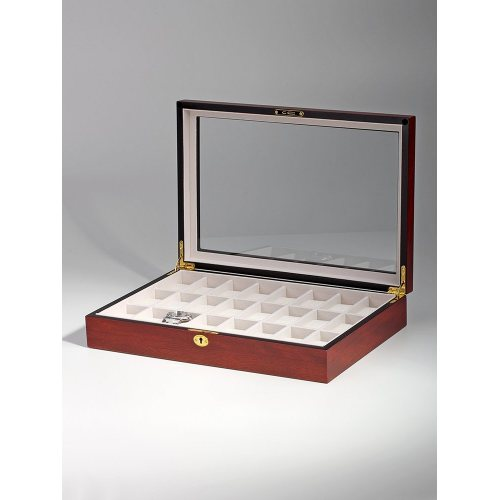 Rothenschild Watch Box RS-1087-24C for 24 Watches Cherry