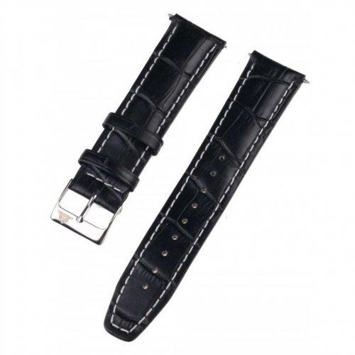 Rothenschild mid-17756 Universal Strap 22mm Black, Silver buckle