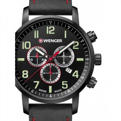 Wenger 01.1543.104 Attitude Chronograph 44mm 10 ATM