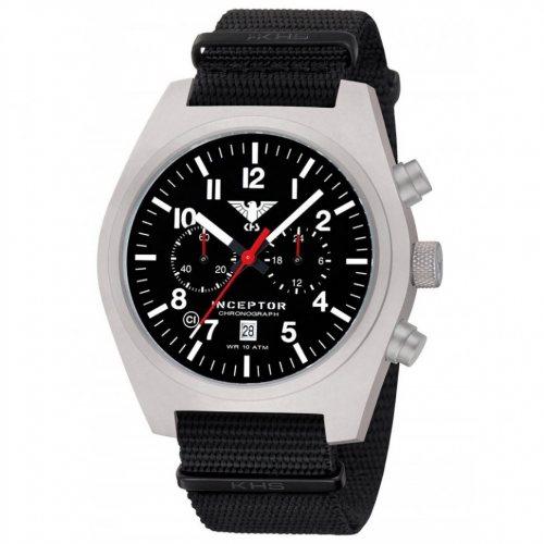 KHS Tactical Watch KHS.INCSC.NB Inceptor Chronograph 46mm 10ATM