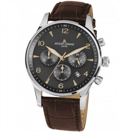 Jacques Lemans 1-1654ZJ London Chronograph 40mm 10ATM