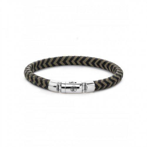 Rebel & Rose bracelet Black-Olive RR-L0062-S-L men`s