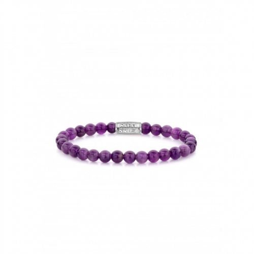 Rebel & Rose bracelet Purple Rain RR-60053-S-S ladies
