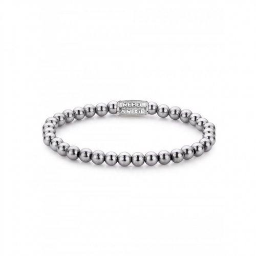 Rebel & Rose bracelet Silver Shine RR-60020-S-S ladies