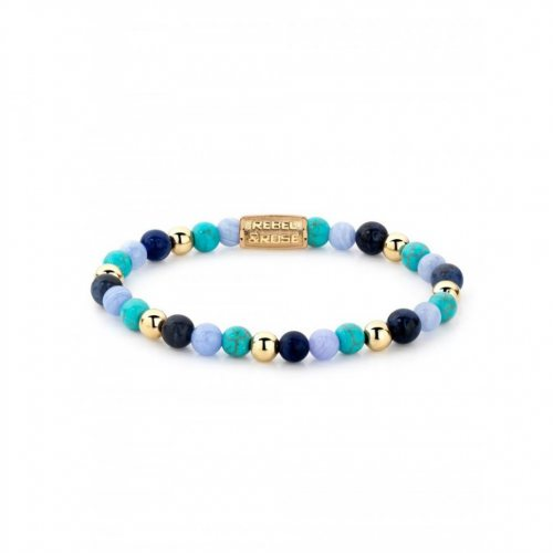 Rebel & Rose bracelet Winter Blues RR-60043-G-S ladies
