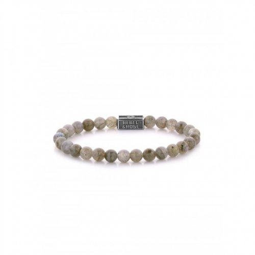 Rebel & Rose bracelet Labradorite Shield 925 RR-6S005-S-S ladies