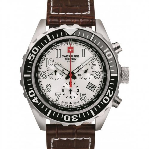 Swiss Alpine Military 7076.9532 chronograph 44mm 10ATM