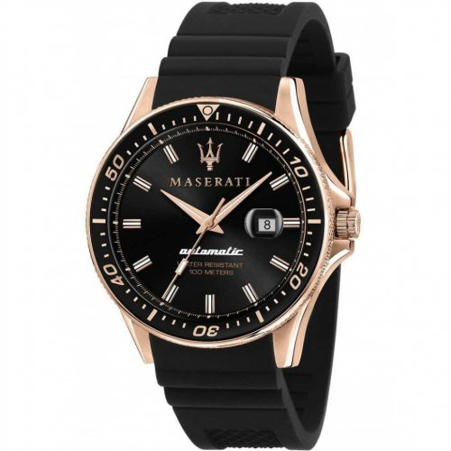 Maserati R8821140001 Sfida automatic men´s watch 44mm 10ATM