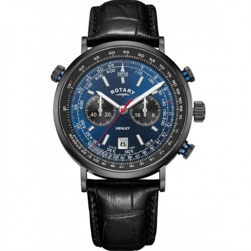 Rotary GS05238/05 Henley chronograph men`s 42mm 5ATM