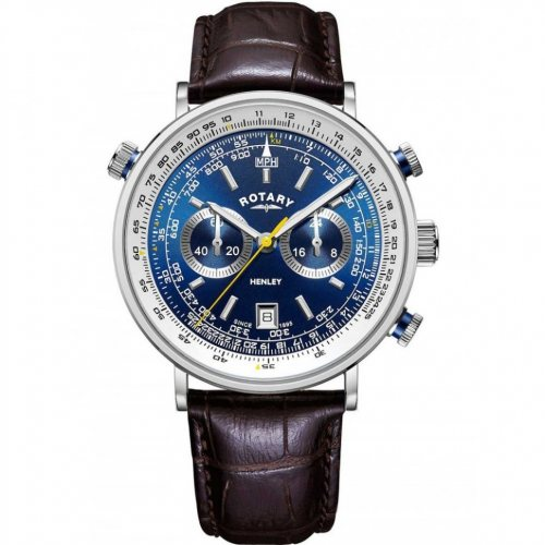 Rotary GS05235/05 Henley chronograph men`s 42mm 5ATM