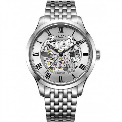 Rotary GB02940/06 Greenwich automatic men`s 42mm 5ATM