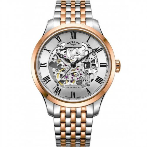 Rotary GB02944/06 Greenwich automatic men`s 42mm 5ATM